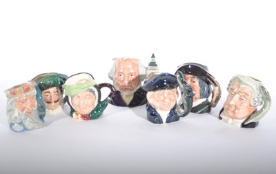 Lot 59 - Fourteen Royal Doulton character jugs
