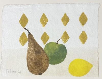 Lot 437 - Mary Fedden, Still life of fruit