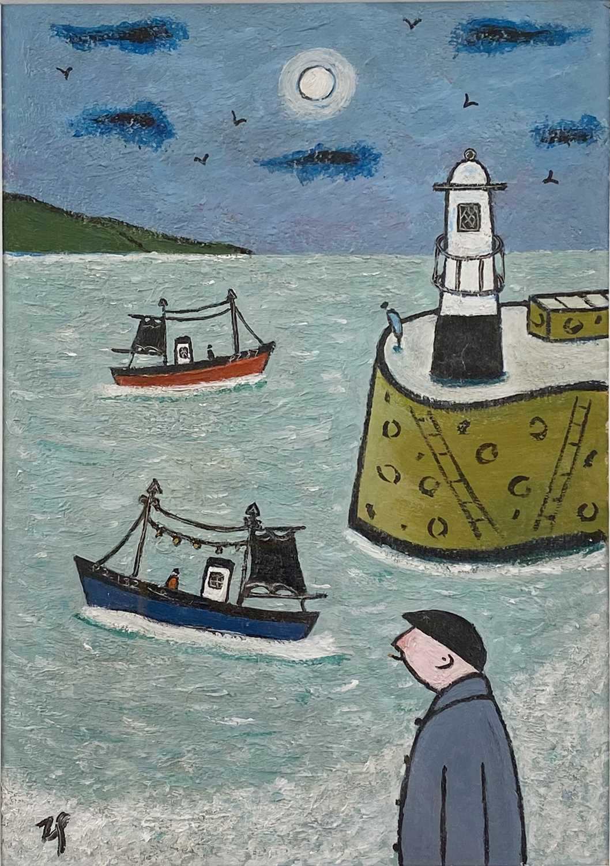 Lot 438 - Joan Gillchrest, Harbour scene