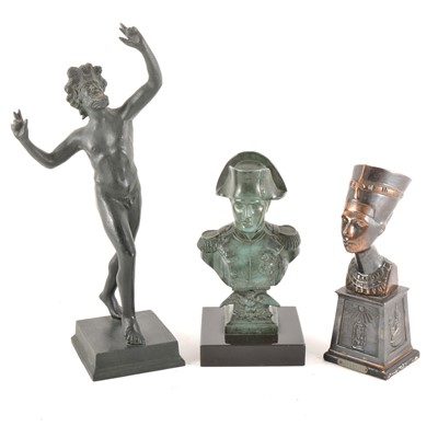 Lot 114 - Three modern sculptures, after the Antiques
