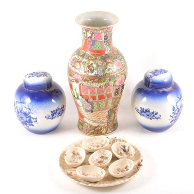 Lot 50 - A number of ginger jars and other modern Chinese ceramics