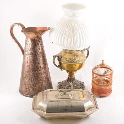 Lot 104 - Assorted metalwares