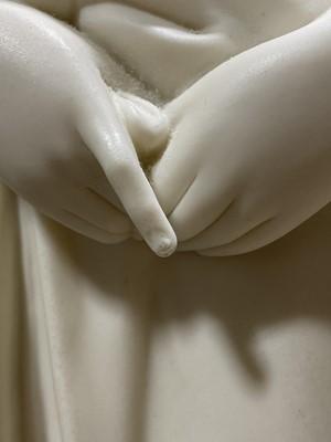 Lot 1-Copeland parian statue, Maidenhood
