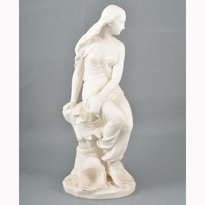 Lot 3-Minton parian statue, Miranda