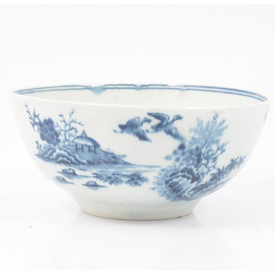 Lot 30 - First Period Worcester bowl