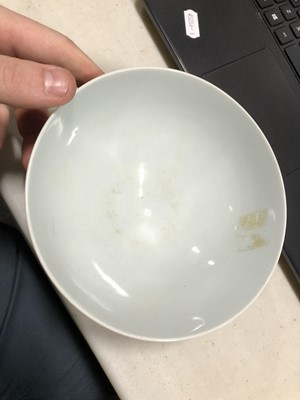 Lot 84 - Two Chinese porcelain bowls