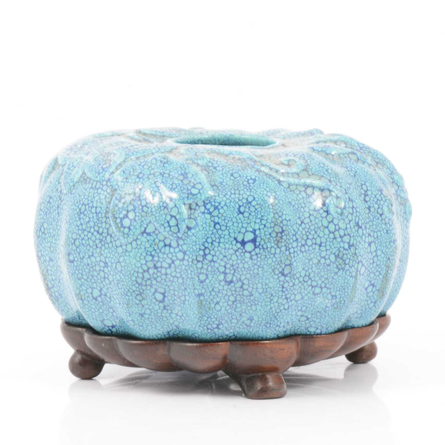 86 - Chinese porcelain inkpot.