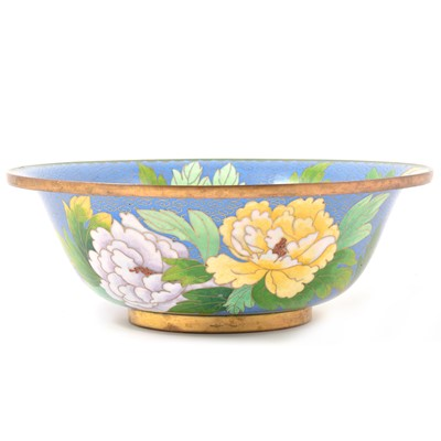 Lot 29-A Japanese cloisonne bowl