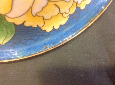 Lot 29-A Japanese cloisonne bowl