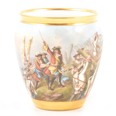 Lot 21-A Sevres porcelain vase
