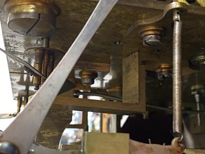 Lot 283 - A fine Edwardian mahogany longcase clock