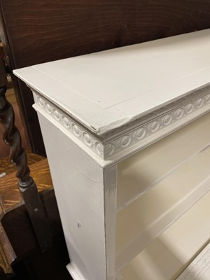 Lot 7 - An Edwardian painted lady's writing desk.