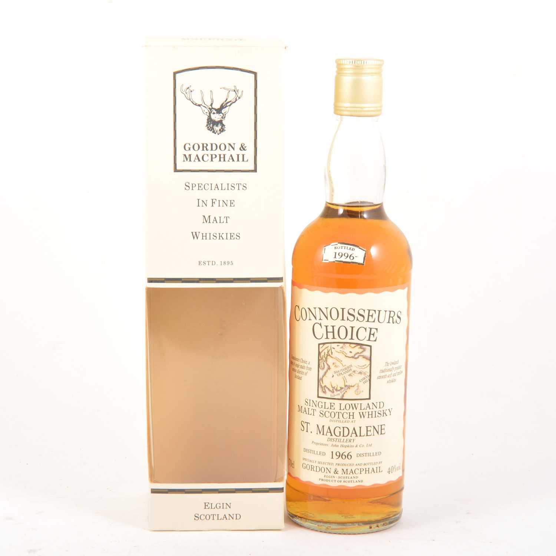 349 - St. Magdalene 1966, Connoisseurs Choice, single Lowland malt Scotch whisky