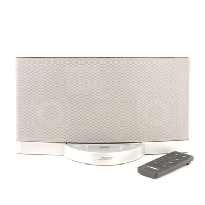 Lot 12 - Bose SoundDock Series II digital music system with controller.