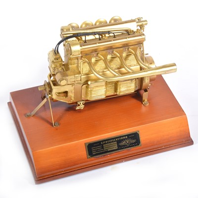 Lot 34 - Universal Power 1:5 scale model; Offenhauser Engine, part no.VP-1001