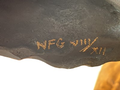 Lot 389 - Nic Fiddian-Green - Gentle Horse in the Wind