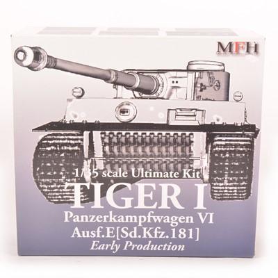 Lot 15 - MFH Model Factory Hero 1:35 scale model kit; Tiger I tank