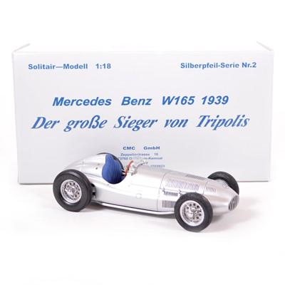 Lot 44 - CMC Classic Exclusive Models 1:18 scale model; Mercedes-Benz W165 (1939)