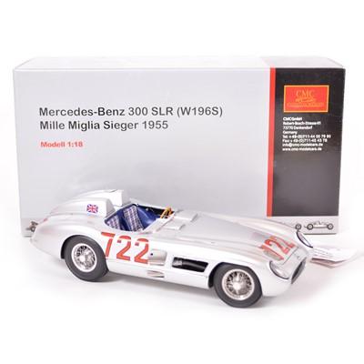 Lot 45 - CMC Classic Exclusive Models 1:18 scale model; Mercedes-Benz 300 SLR (W196S) (1955)