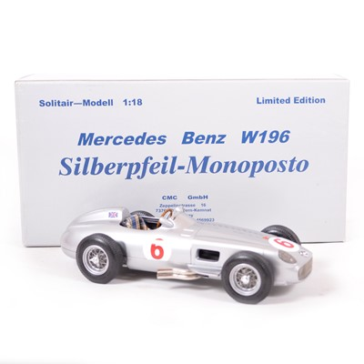 Lot 46 - CMC Classic Exclusive Models 1:18 scale model; Mercedes-Benz W165 (1955)