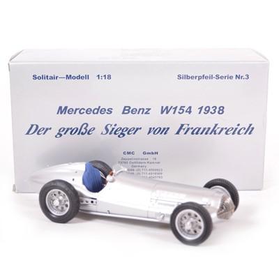 Lot 47 - CMC Classic Exclusive Models 1:18 scale model; Mercedes-Benz W154 (1938)