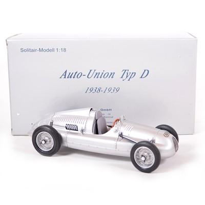 Lot 48 - CMC Classic Exclusive Models 1:18 scale model; Auto-Union Type D (1938-9)