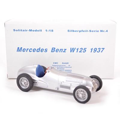 Lot 49 - CMC Classic Exclusive Models 1:18 scale model; Mercedes-Benz W125 (1937)