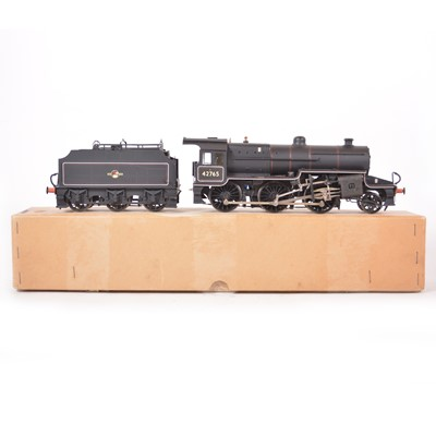 Lot 2 - O gauge locomotive and tender; Class 5MT 'Crab' 2-6-0