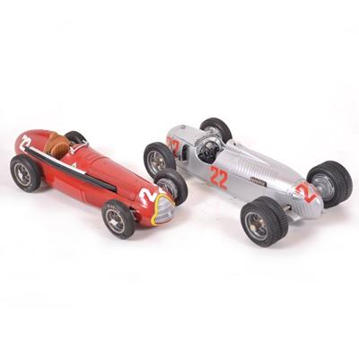 Lot 50 - Two Revival 1:20 scale models including Alfa Romeo P3 Muletto and Alfa Romeo 159 Alfetta