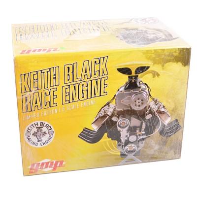 Lot 26 - GMP Real Art Replicas 1:6 scale model engine; Keith Black race engine - Blown Hemi