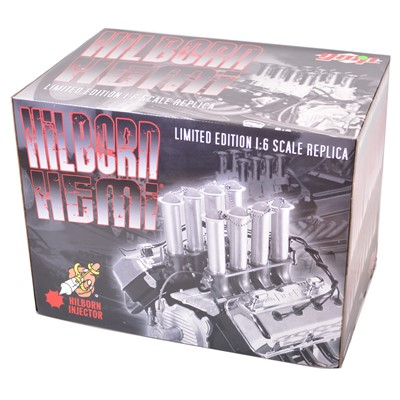 Lot 27 - GMP Real Art Replicas 1:6 scale model engine; Hilborn Hemi - black