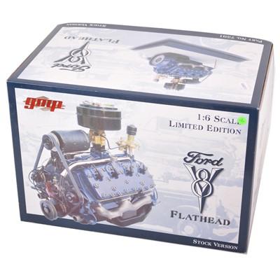 Lot 28 - GMP Real Art Replicas 1:6 scale model engine; Ford V8 Flathead - Stock engine