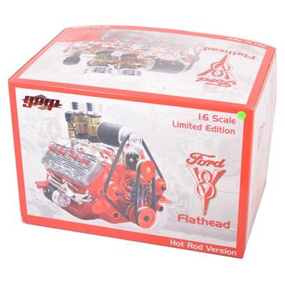 Lot 29 - GMP Real Art Replicas 1:6 scale model engine; Ford V8 Flathead - Hot Rod engine