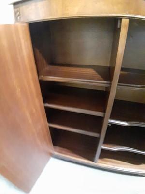 Lot 11 - A reproduction mahogany bookcase.