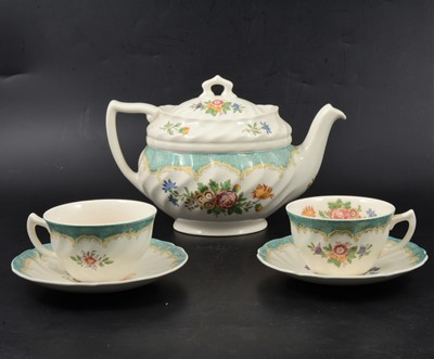 "Lot 43 - Royal Doulton ""Kingswood"" part dinner and tea service."