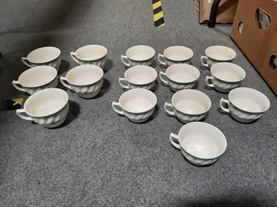 """Lot 43 - Royal Doulton """"Kingswood"""" part dinner and tea service."""