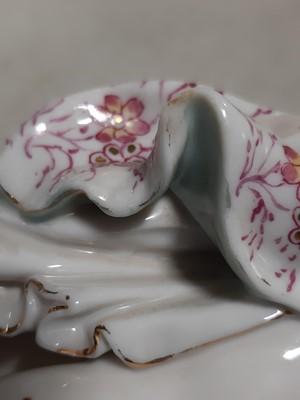 Lot 27 - Five Continental porcelain figures, including Meissen