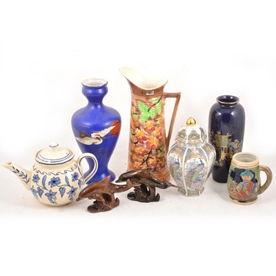Lot 33 - Four boxes of assorted household decorative ceramics