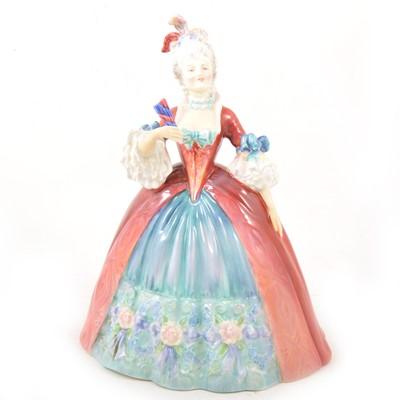 Lot 10 - Royal Doulton figurine, Georgiana HN2093.
