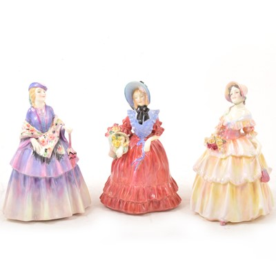 Lot 32 - Royal Doulton ladies, including Lady Betty.