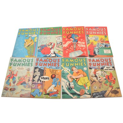 Lot 29 - Fifteen Famous Funnies comics no.132 to 149