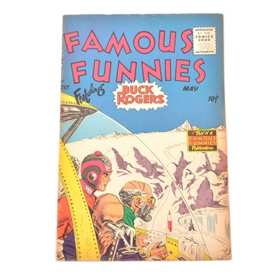 Lot 26 - Famous Funnies comic no.217, Buck Rogers cover