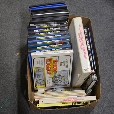 Lot 50 - Buck Rogers books and pre-print publications (one box)