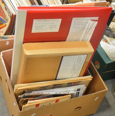 Lot 51 - Comics and comic newspaper supplements (one box)