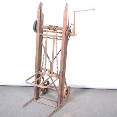 Lot 49 - Agricultural mechanical sack barrow.