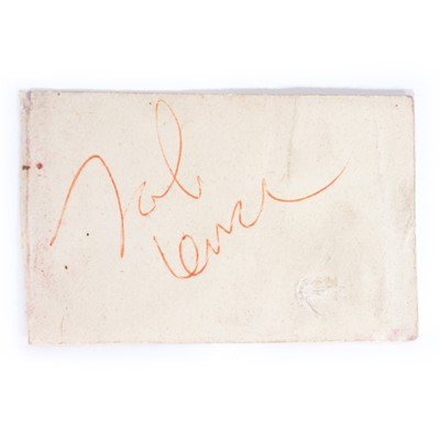 Lot 4 - John Lennon - The Beatles, signature on cream paper