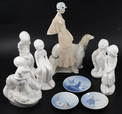 Lot 49 - Royal Doulton and Spode figurines.