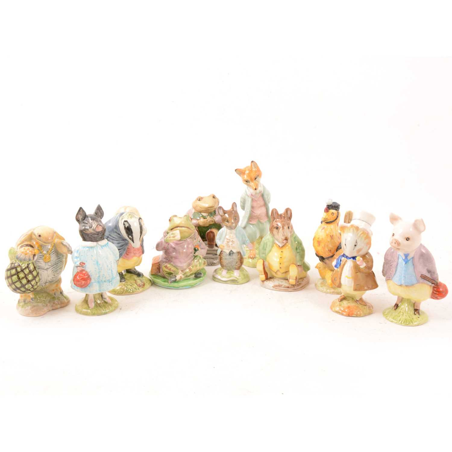 Lot 10 - A small collection of Beswick Beatrix Potter.