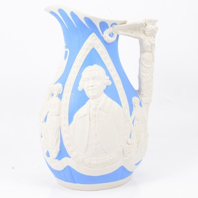 Lot 37 - Stoneware Josiah Wedgwood jug