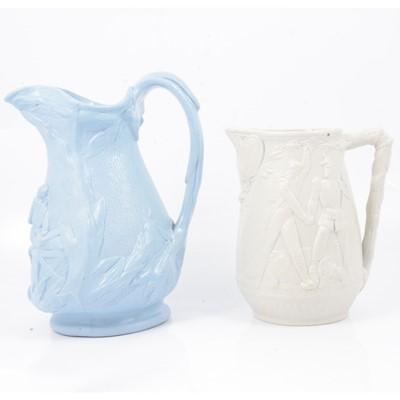 Lot 38 - Stoneware Home & Abroad jug and a Florence Nightingale jug